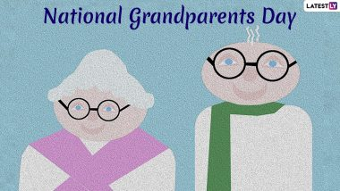 National Grandparents Day 2019 Date: History And Celebrations Related to The Day Dedicated Grandmas and Grandpas!