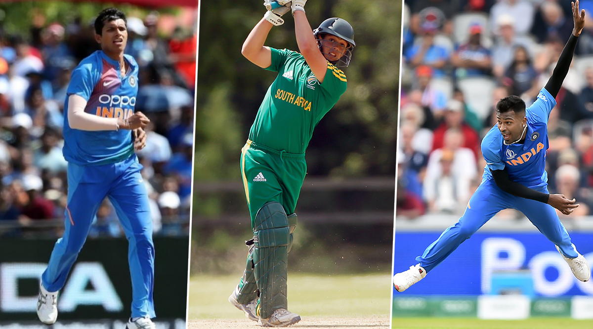 India vs South Africa T20I 2019: Hardik Pandya, Navdeep Saini, Quinton de Kock and Other Players to Watch Out for During South Africa's Tour of India