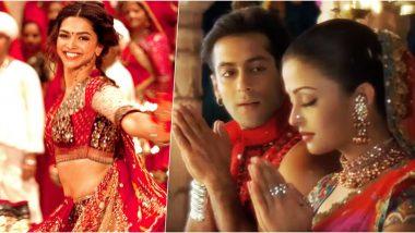 Navratri 2019 Songs For Download Online: Salman-Aishwarya's 'Dholi Taro' to Ranveer-Deepika's 'Nagada', Here Are the Dance Tracks For Garba & Dandiya Night!