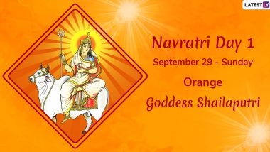 Navratri 2019 Day 1 Colour and Goddess: Worship Devi Shailaputri, the First Avatar of Maa Durga This Sharad Navaratri
