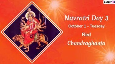 Navratri 2019 Day 3 Colour and Goddess: Worship Devi Chandraghanta, the Third Avatar of Maa Durga This Sharad Navaratri
