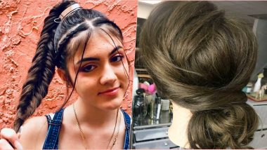 Hairstyles for Navratri 2019: Heatless Ideas to Make Your Hair Stay in Place As You Play Dandiya All Night