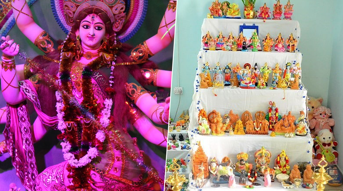 Navratri 2019 Celebrations in India: From Durga Puja in West Bengal to Mysore Dasara in Karnataka, Know How Different States Worship Goddess Durga Across The Country