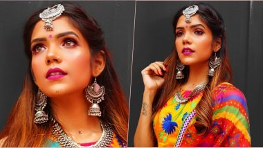 Navratri Makeup Hacks: How to Keep Your Makeup in Place All Night and Enjoy Garba With Your Friends