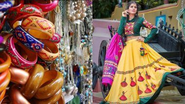 Navratri 2019 Fashion: 5 Best Places in Mumbai to Shop for Chaniya Cholis, Jewellery and Everything You Need to Jazz Up Your Garba Outfit With