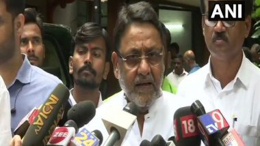 Ahead of Sharad Pawar's Appearance at ED Office, Nawab Malik Accuses Mumbai Police of Detaining Several NCP Workers