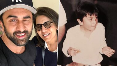 Neetu Kapoor's Nostalgic Post for Son Ranbir Kapoor on His 37th Birthday Is All Hearts!
