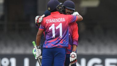 Live Cricket Streaming of Nepal vs Hong Kong 4th T20I Match Online: Check Live Cricket Score, Watch Free Telecast of Pentangular Oman T20I 2019 Series on Cricket Hong Kong YouTube