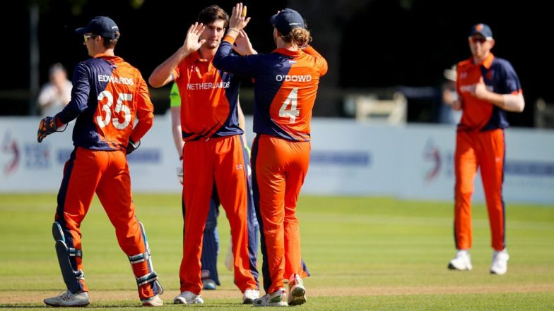 Live Cricket Streaming of Scotland vs Netherlands 5th T20I Match: Watch Free Telecast and Live Score of SCO vs NED Match in Ireland Tri-Series 2019 on 'CricketNederland' YouTube