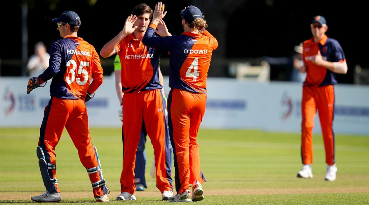 Live Cricket Streaming of Netherlands vs Hong Kong 9th T20I Match Online: Check Live Cricket Score, Watch Free Telecast of Pentangular Oman T20I 2019 Series on Cricket Netherlands YouTube