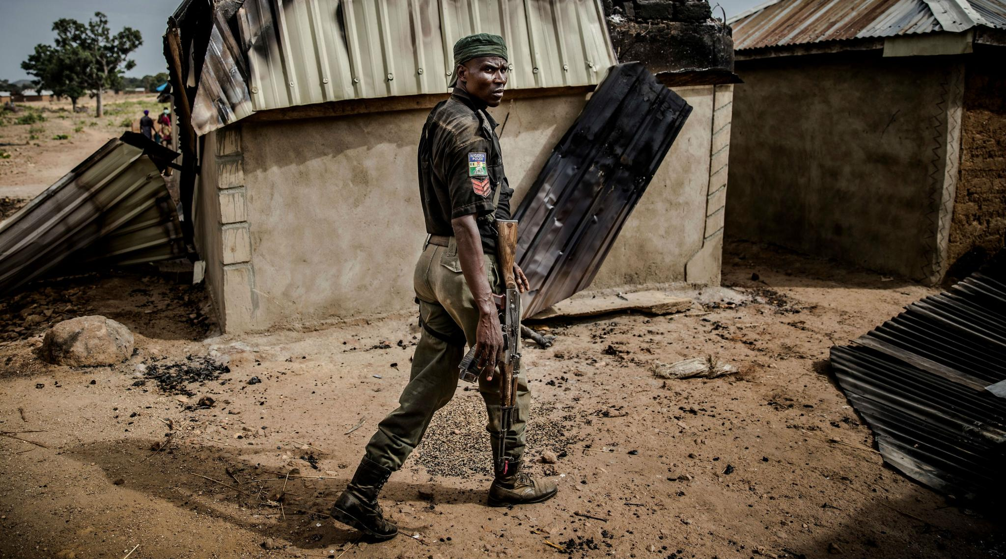Nigerian Police Raid 'Baby Factories' and Free 19 Women and 4 Children in Lagos