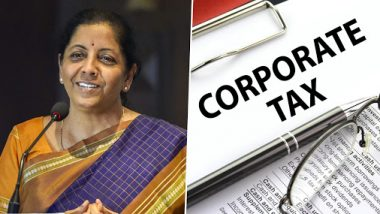 Corporate Tax in India Now Second Lowest in Asia After Nirmala Sitharaman Announces Rate Cut; Here's Where it Stands in The World