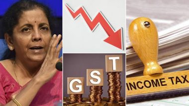 Economic Crisis in India: Nirmala Sitharaman Quashes Manmohan Singh's Claims on GDP Data, GST Collections Decline; Here's All the Financial Development From August 2019