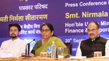 Nirmala Sitharaman Receives Thumbs Up For Corporate Tax Rate Cut; PM Narendra Modi, Netizens, Corporates, Markets Celebrate