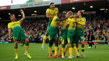 Norwich City vs Manchester United, FA Cup 2019–20 Live Streaming on SonyLiv: Check Live Football Score, Watch Free Telecast of NOR vs MUN Quarterfinal on TV and Online