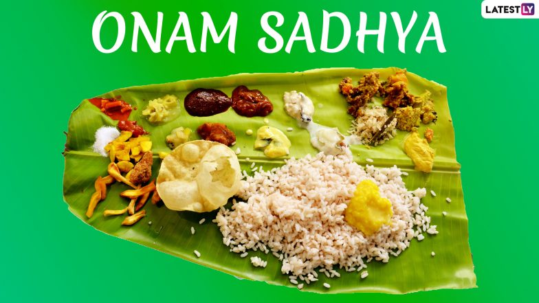 Onam 2019: More than 2500 Calories in Onam Sadhya! Here's a Caloric Breakdown of All Dishes from Sambar to Payasam