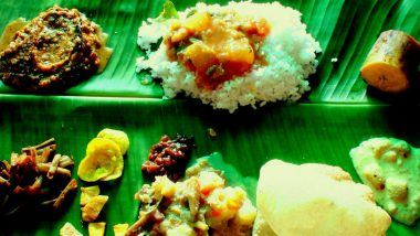 Onam 2019 Images: Six Drool-Worthy Instagram Photos of Onam Sadhya That Look Almost Too Good to Eat!