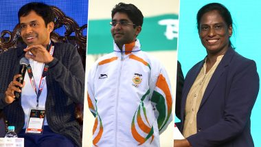 P Gopichand, Abhinav Bindra, PT Usha and Other Indian Sporting Champions to Be Felicitated in Virat Kohli-Backed Indian Sports Honours