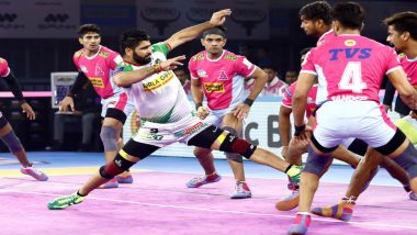 PKL 7 Match Report: Pardeep Narwal Stars as Patna Pirates Beat Jaipur Pink Panthers 36-33