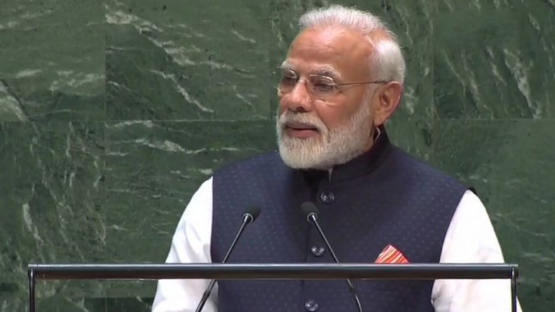 Mahatma Gandhi's Message of Truth, Non-Violence Very Relevant Today, Says PM Narendra Modi at UNGA in New York