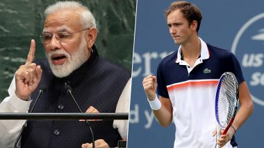 PM Narendra Modi Lauds Daniil Medvedev in His Mann Ki Baat Address, Here Is the Tennis Star's Speech That Impressed Indian Prime Minister