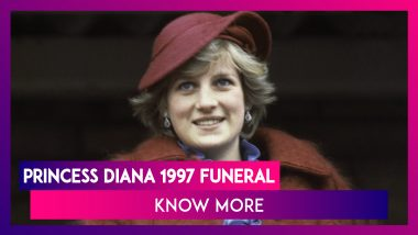Looking Back At Princess Diana's Funeral On September 6, 1997 At London's Westminster Abbey