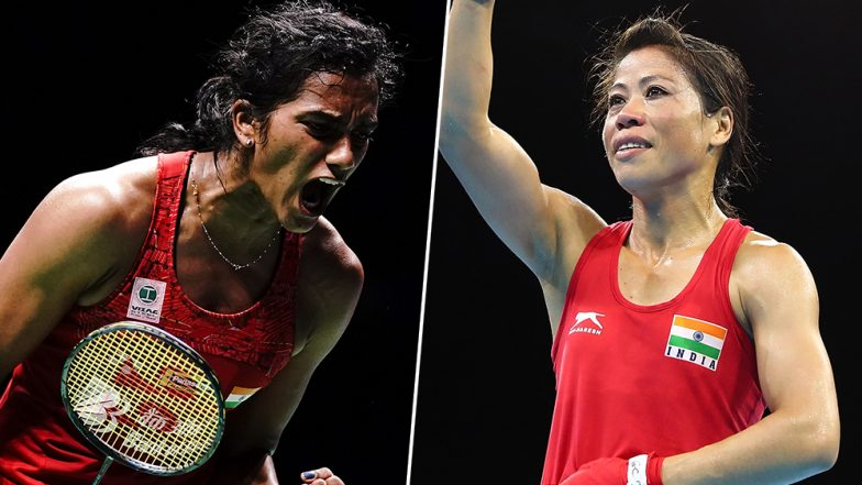 Padma Awards 2020 Nominations' List: PV Sindhu and Mary Kom Nominated for Padma Bhushan & Padma Vibhushan As Sports Ministry Sends an All-Women List