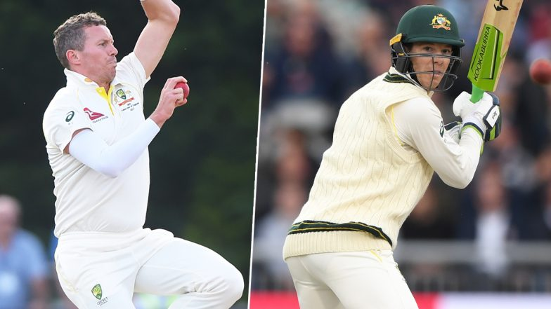 Australian Captain Tim Paine and Peter Siddle Played the 5th Ashes 2019 Test With Injuries