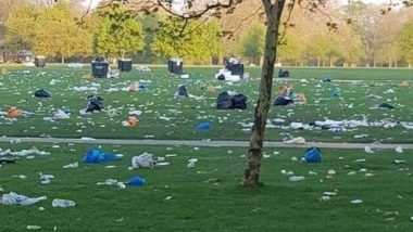 Old Fake Photo Accusing Australian Global Climate Strike Protesters of Littering Hyde Park Goes Viral! Here's The Truth  ‏