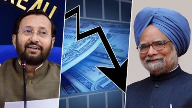 Prakash Javadekar Retorts on Former PM's Observations of Economic Crisis, Says 'We Don't Subscribe to What Manmohan Singh Has Analysed'