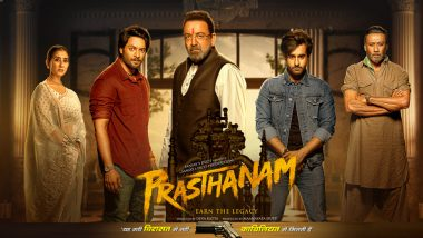 Prassthanam Movie: Review, Cast, Box Office, Budget, Story, Trailer, Music of Sanjay Dutt, Ali Fazal, Manisha Koirala Film