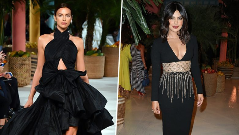 Irina Shayk or Priyanka Chopra - Whose Black Oscar de la Renta Dress Will Find a Place in Your Wardrobe?