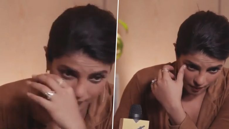 Priyanka Chopra Imitating Nick Jonas Crying Is Cute and Funny! (Watch Video)