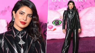 Priyanka Chopra Jonas Is an Absolute Disaster at the Vogue Japan 20th Anniversary Party in Milan (View Pics)