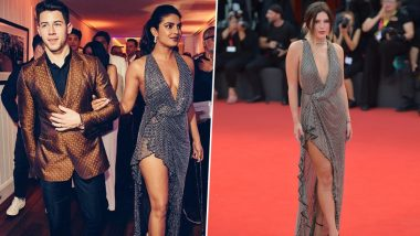 Priyanka Chopra and Bella Thorne Fashion Face-Off! Who Wore the Metallic Studded Gown Better? Vote Now