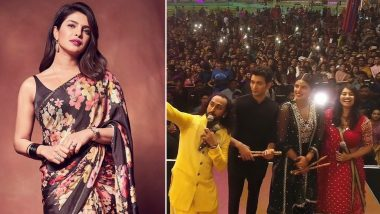 Priyanka Chopra Jonas is Drenched in Navratri Vibes as She Shows Off Dandiya Moves While Promoting The Sky Is Pink (Watch Video)