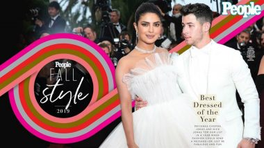People's Best-Dressed List 2019: Priyanka Chopra and Nick Jonas Become First Couple to Share Top Style Honours in Celeb Magazine's History