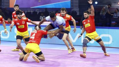 Pro Kabaddi League 7 Match Report: Gujarat Fortunegiants Thrash Tamil Thalaivas 50-21