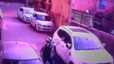 Delhi Crime: 45-Year-Old Property Dealer Shot Dead in Dwarka, Incident Caught on CCTV