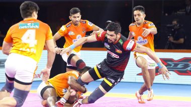 PKL 2019 Results: Pankaj Mohite Stars as Puneri Paltan Beat Bengaluru Bulls 42-38 at Shree Shiv Chhatrapati Sports Complex