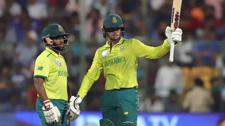India vs South Africa 3rd T20I 2019 Live Cricket Score Updates: Quinton de Kock Reach Multiple Milestones; SA Level Series With 9 Wickets Victory