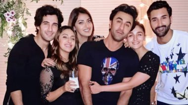 Alia Bhatt Grabbing Her Man Ranbir Kapoor at a Birthday Bash Is Super Cute, View Pics