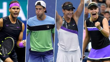 US Open 2019: Rafael Nadal vs Diego Schwartzman, Belinda Bencic vs Donna Vekic & Other Quarter-Final Tennis Matches To Watch Out For at Flushing Meadows