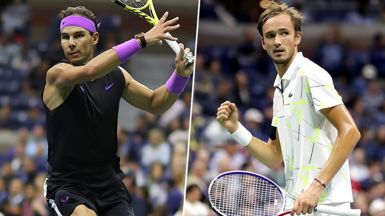 Rafael Nadal vs Daniil Medvedev, US Open 2019 Final Live Streaming & Match Time in IST: Get Telecast & Free Online Score Details of Men's Singles Tennis Match in India