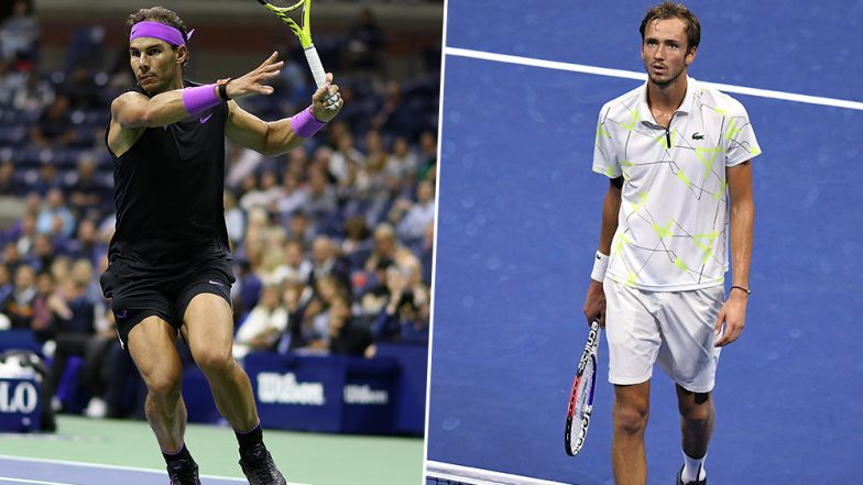 US Open 2019 Men's Final: Watch Out For Rafael Nadal vs Daniil Medvedev Tennis Match at Flushing Meadows