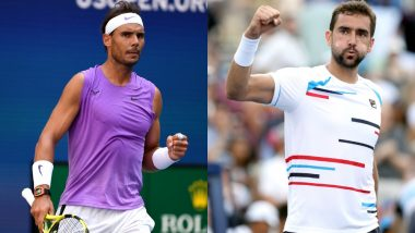 Rafael Nadal vs Marin Cilic, US Open 2019 Live Streaming & Match Time in IST: Get Telecast & Free Online Stream Details of Round of 16 Tennis Match in India