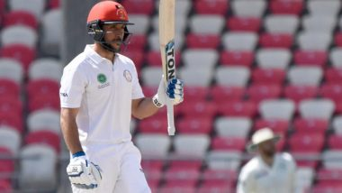 Rahmat Shah Becomes 1st Afghanistan Player to Score a Test Century, Achieves Feat During BAN vs AFG One-off Test