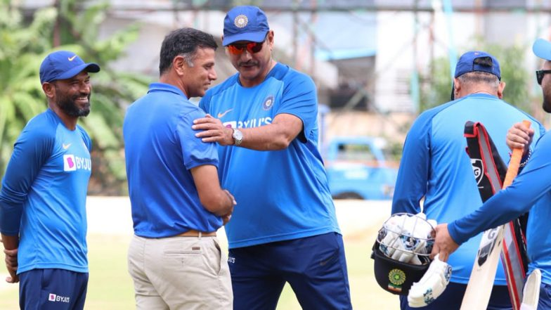 Rahul Dravid Spends Time With Indian Players Ahead of Third T20I Against South Africa in Bengaluru