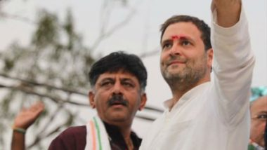 Rahul Gandhi Defends DK Shivakumar, Calls His Arrest 'Another Example of Vendetta Politics Unleashed by Modi Government'