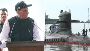 INS Khanderi Commissioned Into Indian Navy: Rajnath Singh Says India's Naval Force Capable of  Delivering 'Bigger Blow' to Pakistan